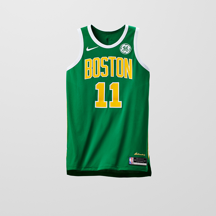 "Here are all of the new ""Earned"" uniforms in the NBA for the 2018-19 season   Boston Celtics a57ed079c"