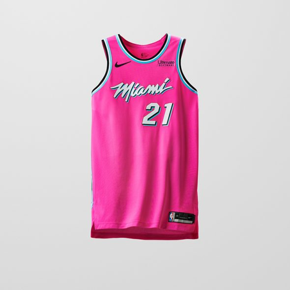 timeless design b4a40 af553 Leak: Miami Heat New Vice Jersey for 2020 | Chris Creamer's ...