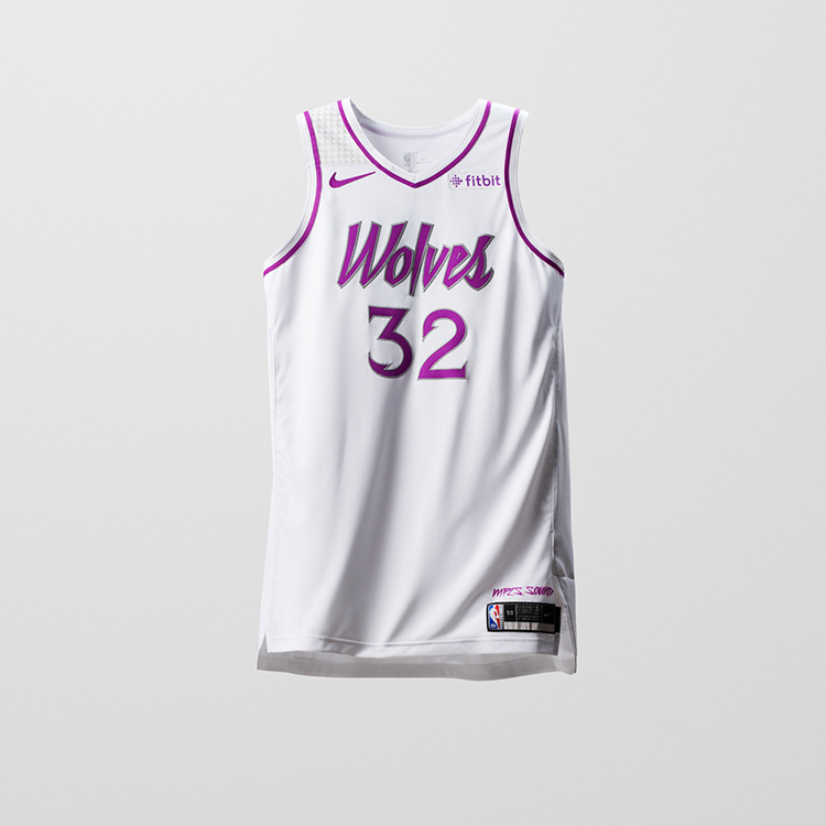 ... uniform worn by the Bucks in their original seasons. Minnesota  Timberwolves 97df6a76a