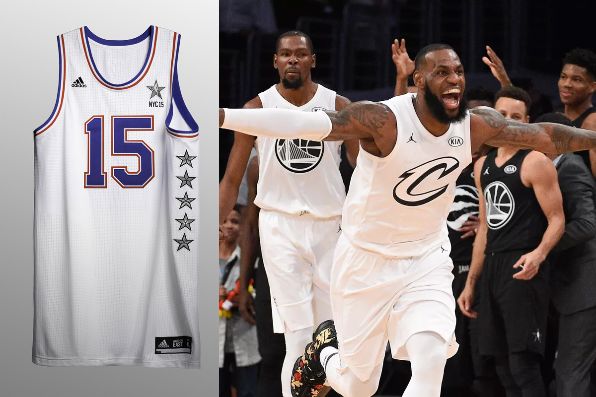 Possible 2019 NBA All-Star Game jersey spotted