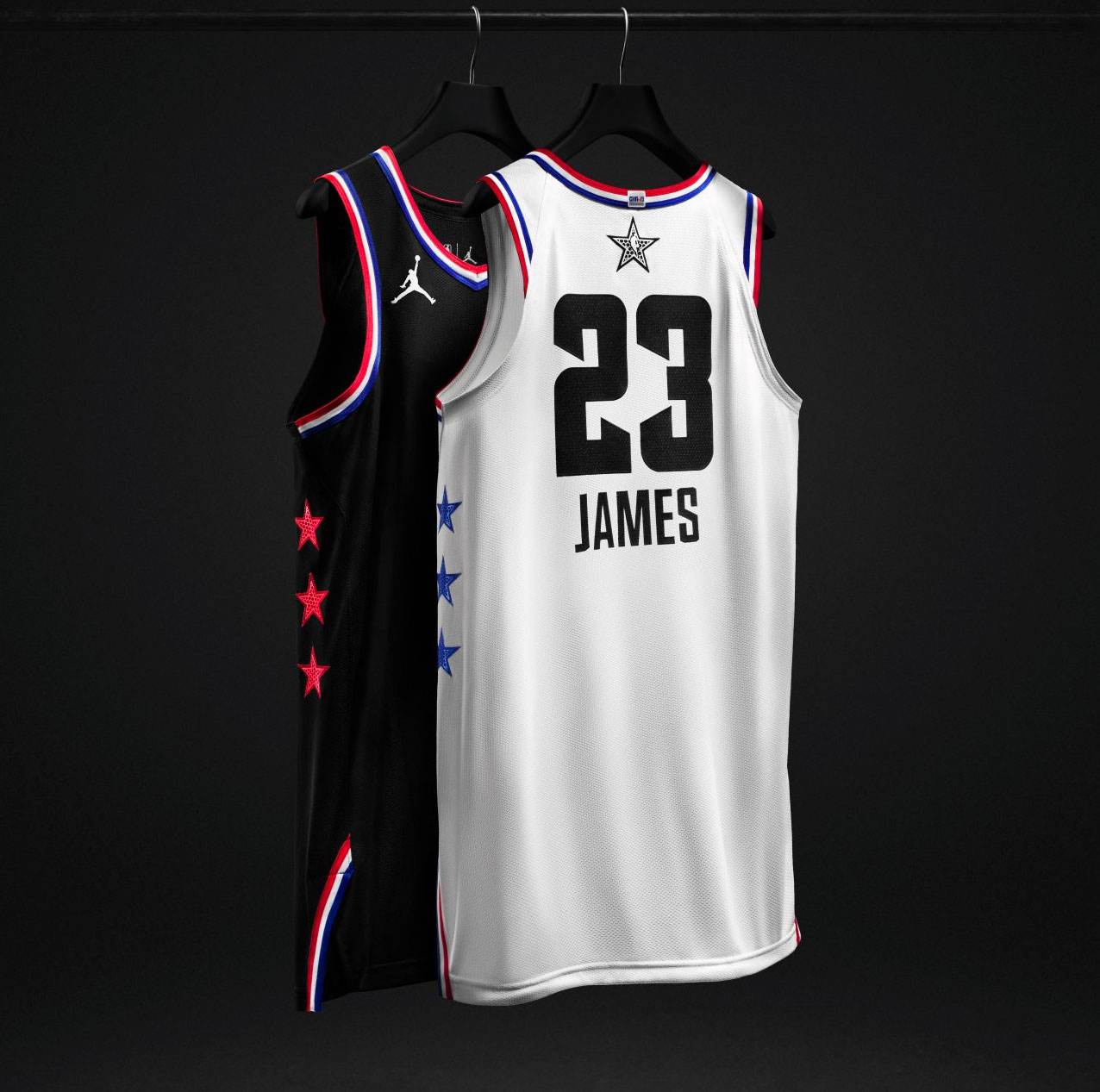 6bf490e065e It s the second NBA All-Star Game in a row that we ve seen the  black-and-white style uniforms with large team logos on the front