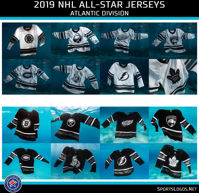 meet a0b75 cea93 2019 NHL All-Star Game Uniforms Unveiled | Chris Creamer's ...