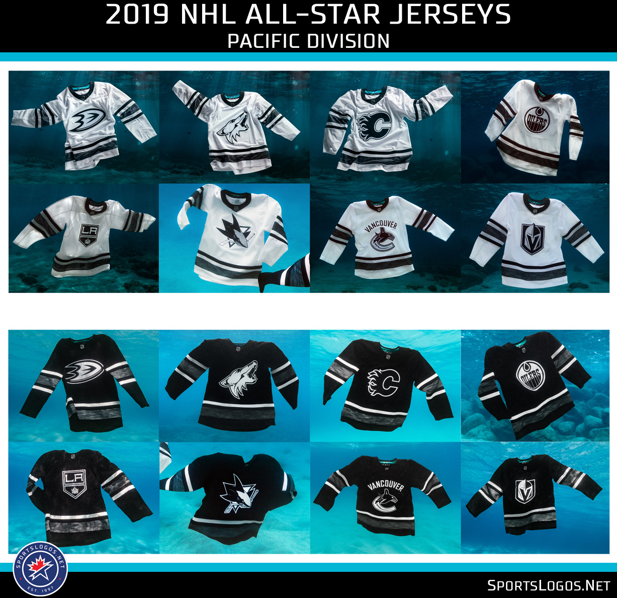 A look now at all of the jersey designs for every team broken up by their  divisional teams. Click any of the graphics for a closer look. 89acf5ab67f