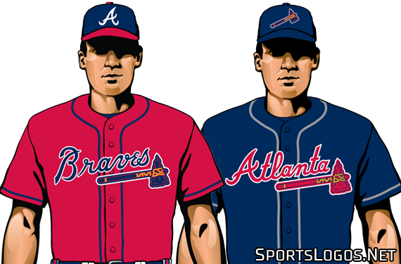 00636884a20 Atlanta Braves Tweak Road and Alternate Uniforms for 2019