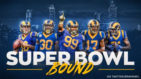 separation shoes 06159 76e2d Los Angeles Rams Confirm Throwback Uniforms For Super Bowl ...