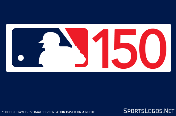MLB 150th Anniversary Patch for 2019 Spotted