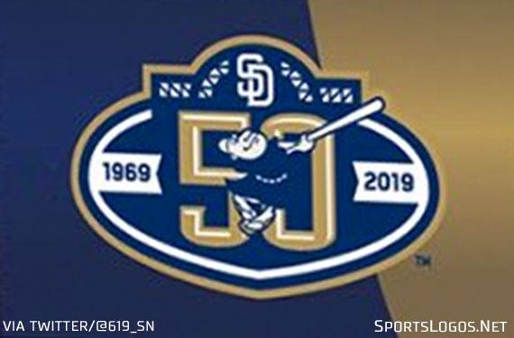 San Diego Padres 50th Anniversary Logo Leaks