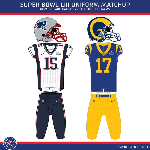 separation shoes b060f b09bb Los Angeles Rams Confirm Throwback Uniforms For Super Bowl ...