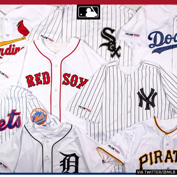 MLB 150  All 30 MLB Teams to Wear Jersey Patch in 2019  41d7e4ee7