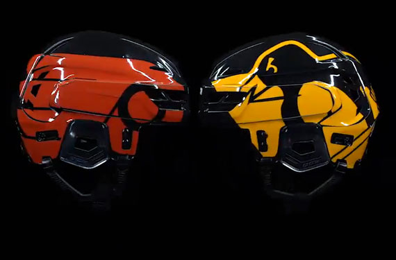 Flyers, Penguins Wearing Helmets With Giant Logos for Stadium Series
