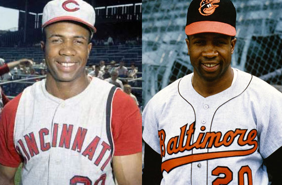 Reds, Orioles Add Memorial Patch for Frank Robinson