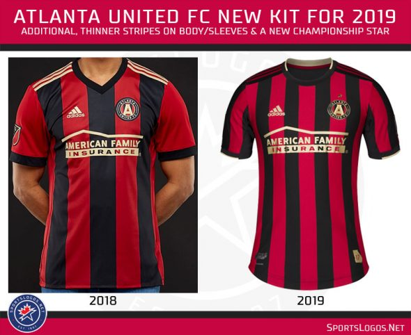 new style 0ac3e 0f86d MLS: A Look at all the New MLS Uniforms for 2019 | Chris ...