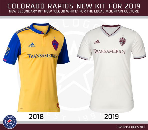 e0ef4e66f The Rapids dropped their secondary design inspired by the blue