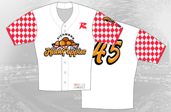 Flying Squirrels to play a game as the Richmond Hushpuppies