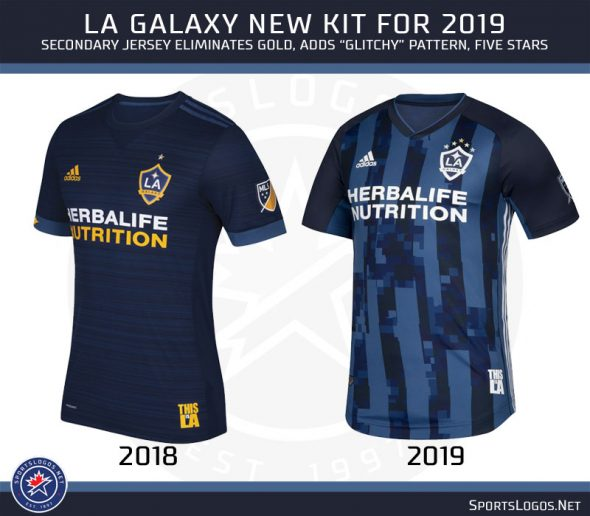 The Los Angeles Galaxy will acknowledge each one of their MLS Cup victories  with five stars above the badge instead of just one star to represent all  five. b558d1ac5