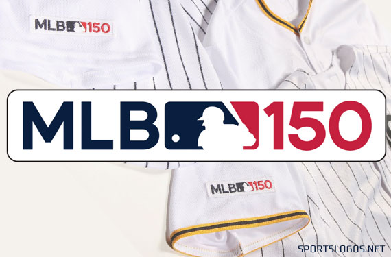buy popular 83d53 840a0 Starting league-wide, Major League Baseball is celebrating the 150th  anniversary of the first professional baseball team, the 1869 Cincinnati  Red Stockings, ...