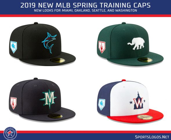 b3d51f906b2a8f Earlier this off-season we examined all the team caps that will be worn  this Spring, here those are again: