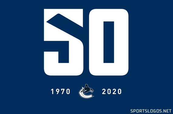 Canucks Celebrate 50th Anniversary With Commemorative Logo