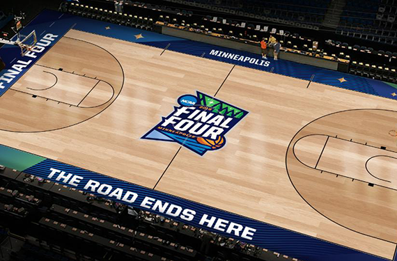 NCAA Reveals 2019 Final Four Court