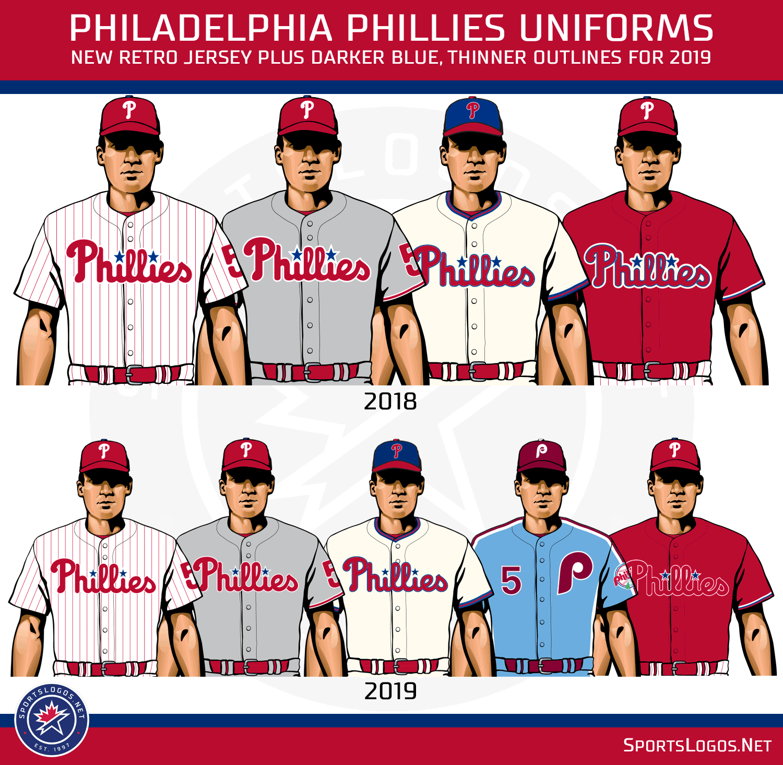 e6c2f206b37 2019 MLB New Logos and Uniforms
