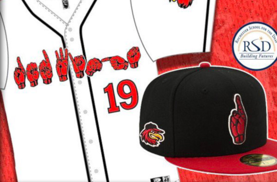 Rochester Red Wings to wear sign language jerseys on Deaf Culture Day