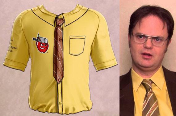 Fort Wayne TinCaps channel Dwight Schrute in Office tribute