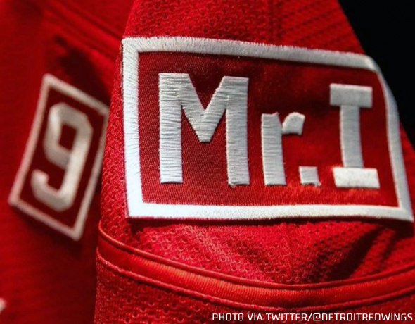Logopinion: Detroit Red Wings Memorial Patches