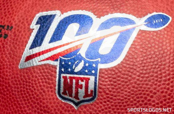 First Look at NFL 100 Jersey Patch and Football