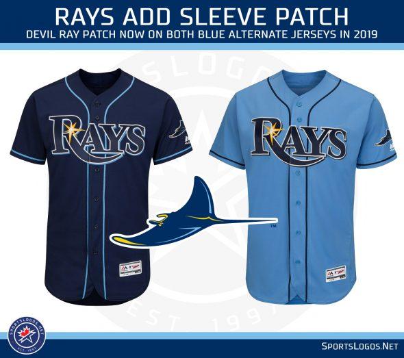 tampa bay rays change logo tweak unis announce throwbacks sportslogos net news tampa bay rays change logo tweak unis