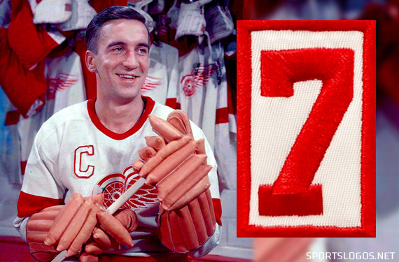 The Detroit Red Wings are honouring the life of former captain Ted Lindsay  with a memorial patch on their jersey for the remainder of the 2018-19  season. 78b9b6e70