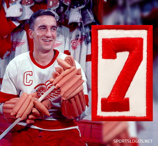 Red Wings Honour Ted Lindsay With #7 Patch