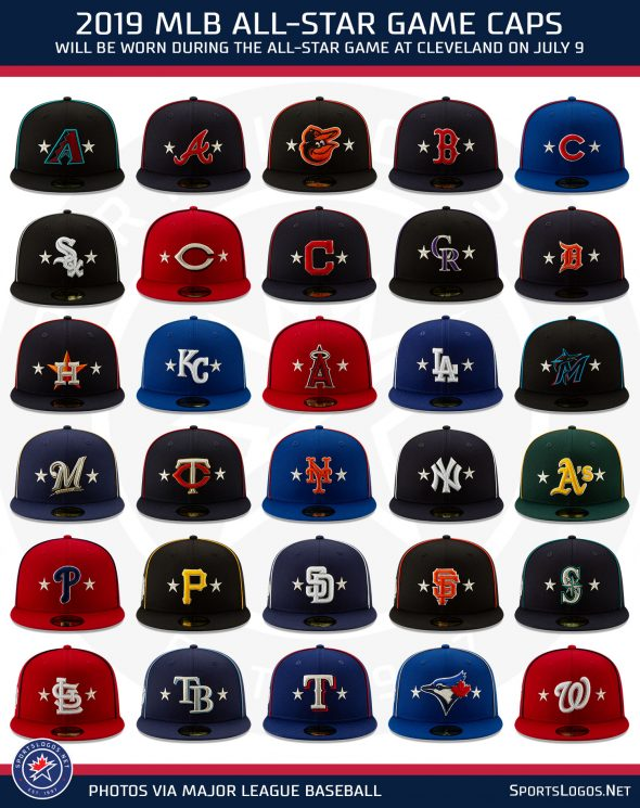 a8212f018 MLB Unveils 2019 Holiday, All-Star Caps and Uniforms | Chris ...