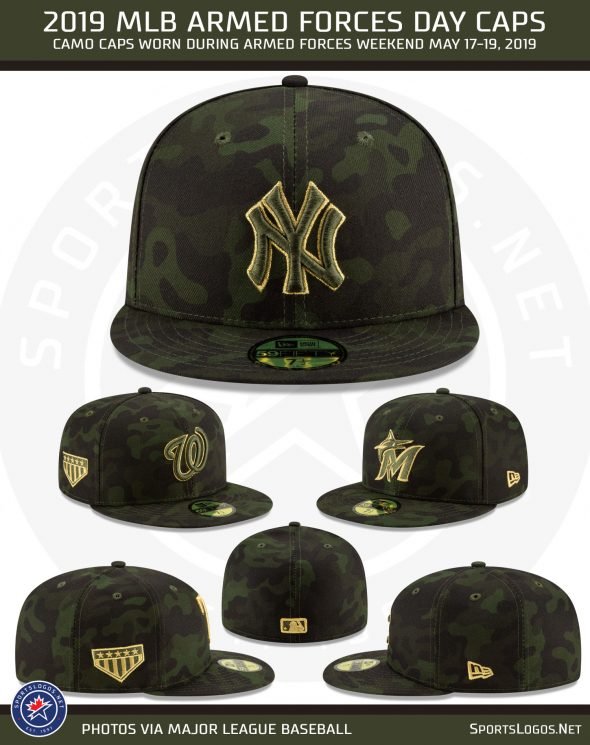 finest selection 1c822 a6071 Camouflage Across MLB All Weekend For Armed Forces Day 2019 ...
