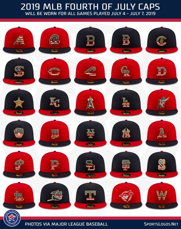 57c4bf0b MLB Releases Special 2019 Holiday Caps, Jerseys, Socks | Uni Watch