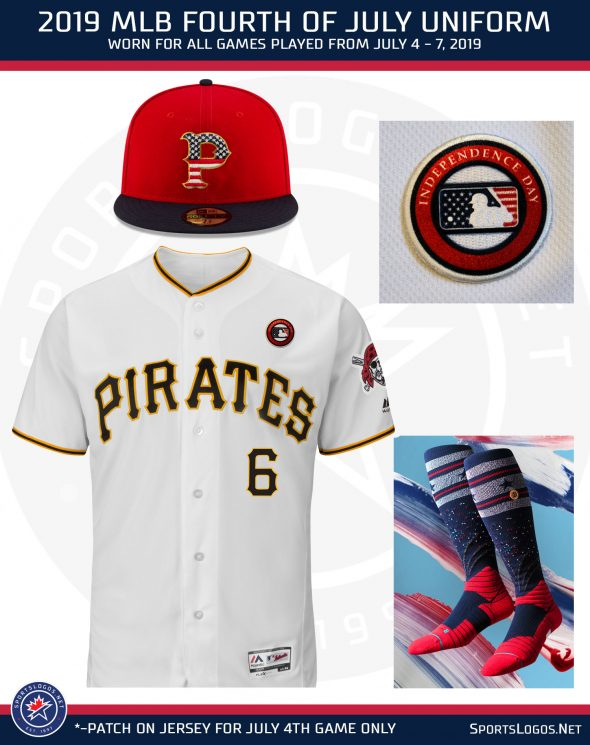 729ea0d2 To be worn across the entire Fourth of July Weekend (July 4th – 7th), all*  teams will wear a throwback-inspired cap design in ...