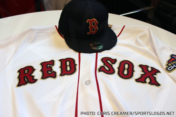9a67e0bf7bf8e6 Champion Red Sox Add Gold to Uniforms for 2019 Opener