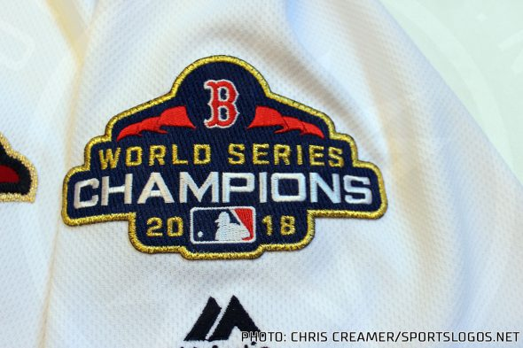 4fcedd78dce It s become an annual tradition in Major League Baseball for the defending  champion to add gold to their uniforms when they open the season.
