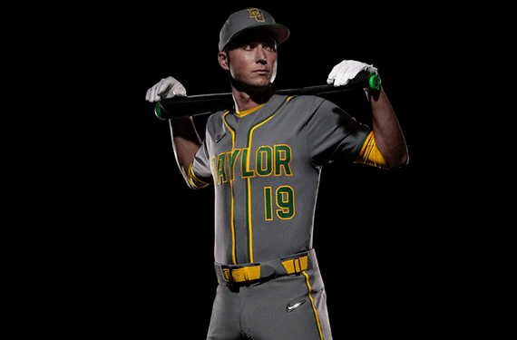 638f9da1a89 Baylor opens the 2019 football season on Aug. 31 against Stephen F. Austin,  which will be the first time we see the new threads in action.