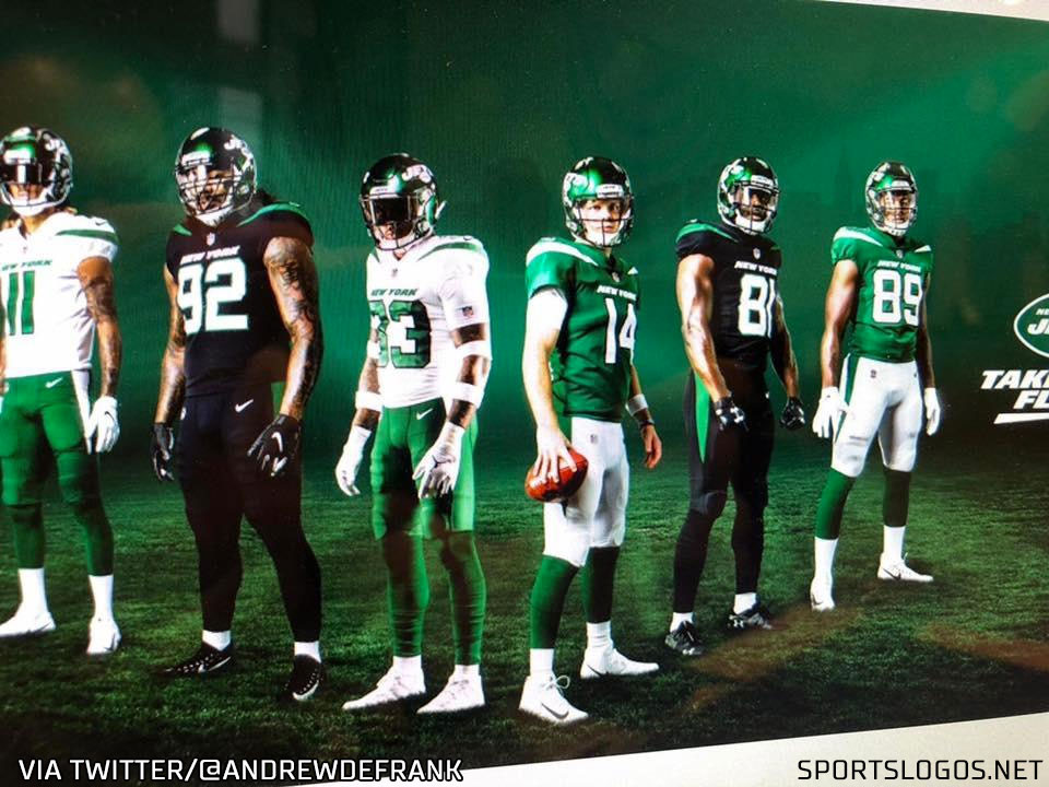 New York Jets Unveil New Uniforms And Logo