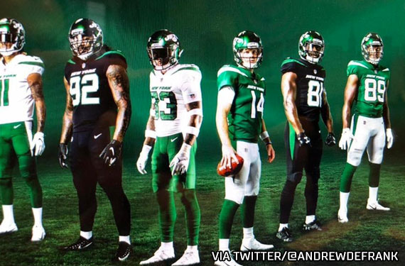 The New York Jets Release New Uniforms And Logo