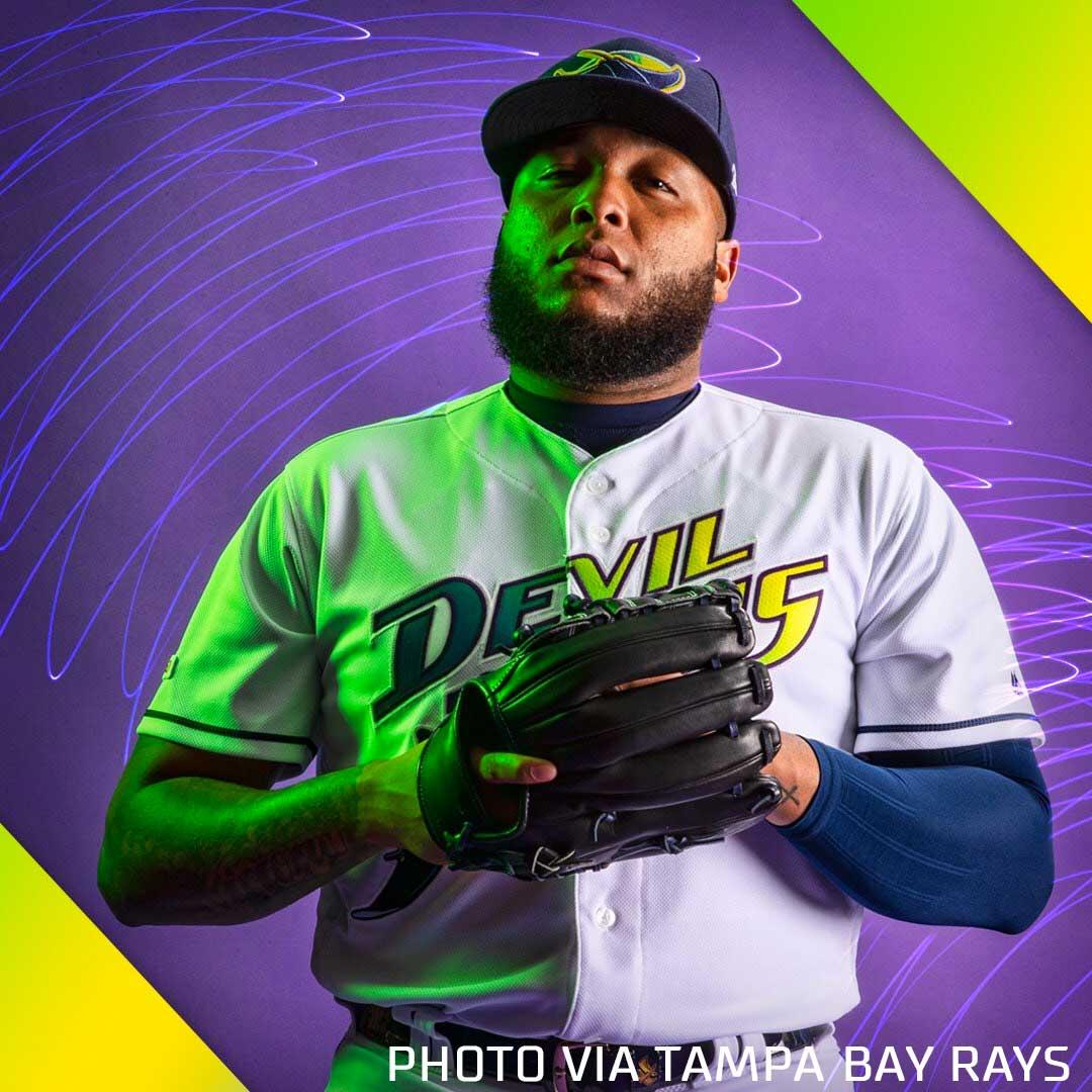 Devil Rays Uniforms Return for four in 2019