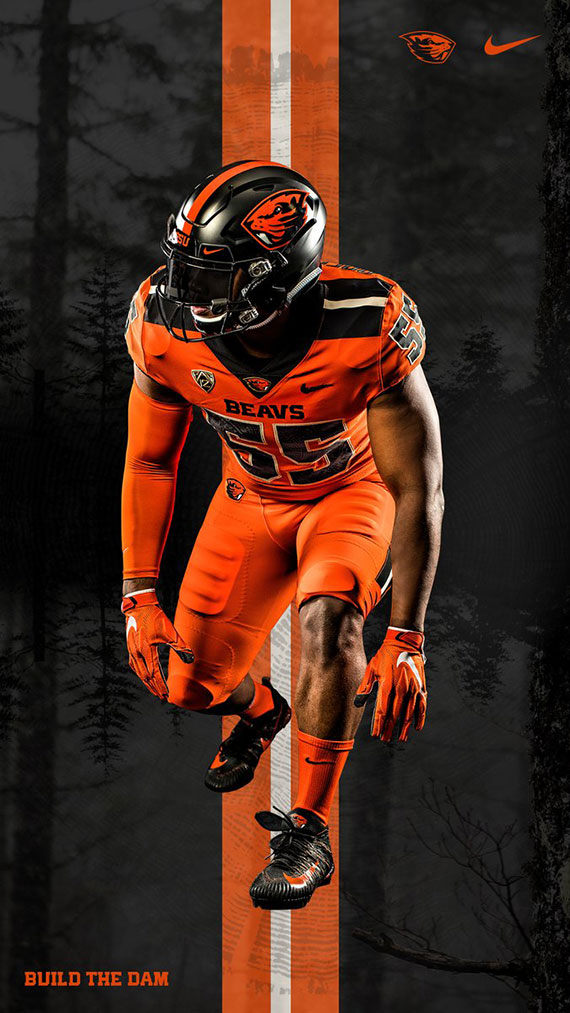Chris Creamer New  | State Uniforms Unveils Football Oregon