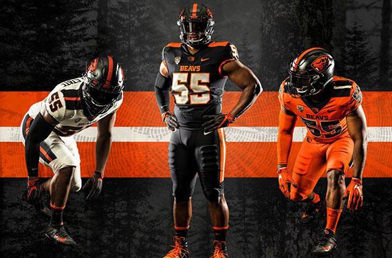 the best attitude 20603 ef2b3 Oregon State Unveils New Football Uniforms | Chris Creamer's ...