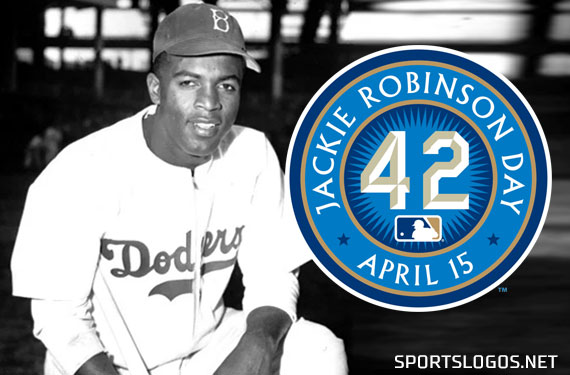 on sale 0a826 30d60 Dodgers Throwback Uniforms, Everyone in 42 for Jackie Robinson Day 2019