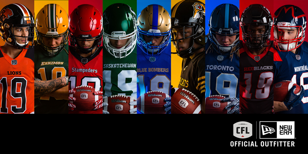 CFL Unveils New Team Uniforms for 2019