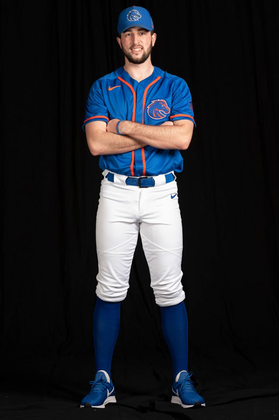 922c2810 Boise State Unveils Baseball Jerseys Ahead Of First Season In 40 ...