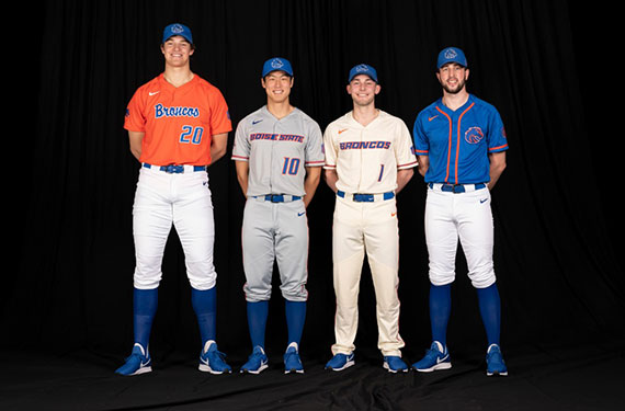 Boise State Unveils Baseball Jerseys Ahead Of First Season In 40 Years