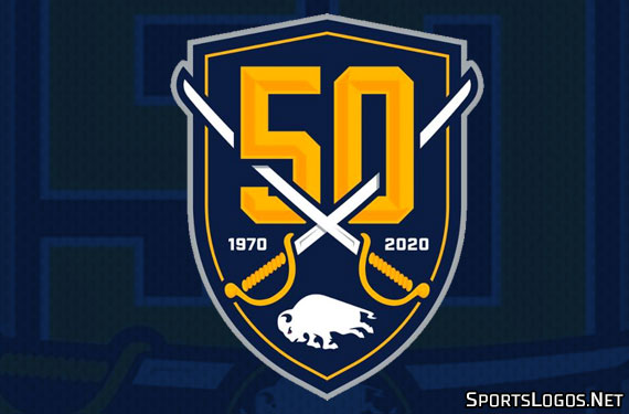 Sabres Celebrate 50 Years With New Logos
