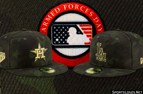 Camouflage Across Mlb All Weekend For Armed Forces Day 2019 Sportslogos Net News