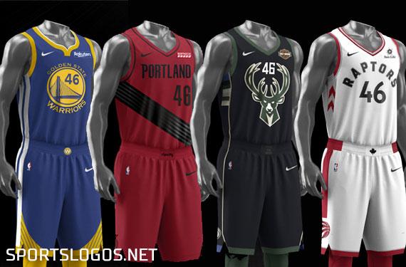 5356031f0 2019 NBA Conference Finals Uniform Schedules Set  No Red for Raptors ...